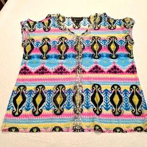 INC ladies summer blouse
